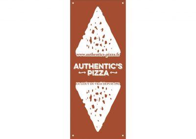authentic's pizza